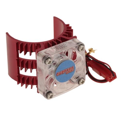 スーパーパスホビーモーターヒートシンク、冷却ファン付1/10 HSP HPI Wltoys京商TRAXXAS 36mmブラシレスモーター