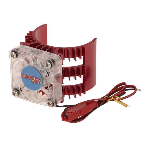 SUPERPASS HOBBY Dissipatore di calore del motore con ventola di raffreddamento per 1/10 HSP HPI Wltoys Kyosho TRAXXAS 36mm Brushless Brushed Motor