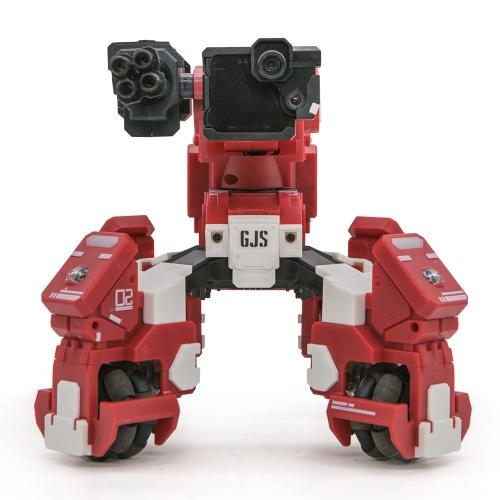 Originale GJS GEIO 5.8G trasmissione sparatutto in prima persona Bot di battaglia con VR Auto-Tracking RC Robot Toy