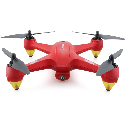 GoolRC Binge 1 2.4G 4CH 1080P HD Camera Wifi FPV sem escova GPS RC Quadcopter Selfie One-key Return Altitude Hold Drone