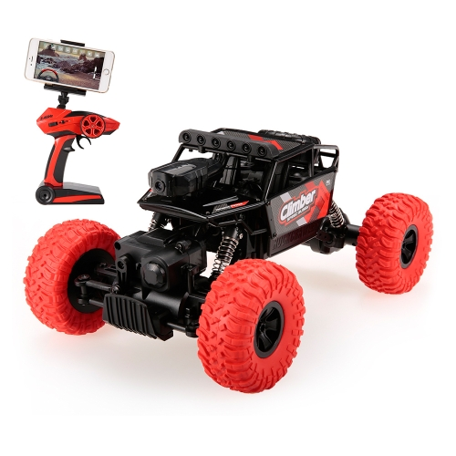 JJRC (JJR / C) Q45 480P Telecamera WiFi FPV 2.4G 4WD RC Rock Crawler Off-Road Buggy Car