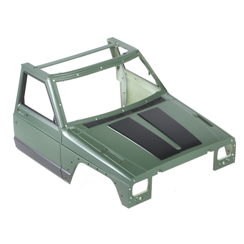 Austar AX-313YE Hartplastik Auto Shell Körper DIY Kit für 313mm Radstand 1/10 Axial SCX10 90046 90047 RC Crawler