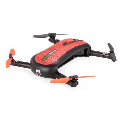 Original BAO NIU HC652W Mouse Drone Foldable WIFI FPV RC Quadcopter com 0.3M Camera Altitude Hold Drone