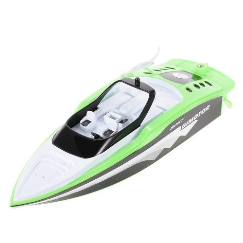 Bild von Erstellen Sie Spielzeug 3392M Portable Micro RC Racing Boot Fernbedienung Speedboat Boy Geschenk Kid Spielzeug