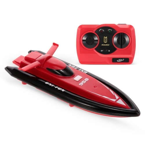 HUANQI 958A 2.4GHz 2CH Portable Mini RC Boat
