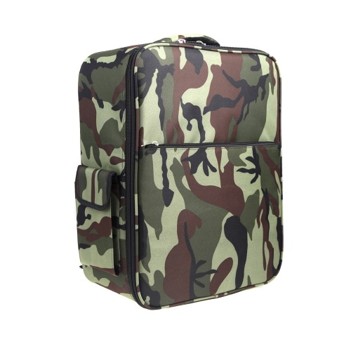 Universal Shoulder Camouflage Backpack Outdoor Flight Quadcopter Portable Bag for DJI Phantom Vision 1/2 Walkera QR X350 Pro RC Quadcopter  (DJI Phantom Backpack;Walkera QR X350 Pro Backpack)