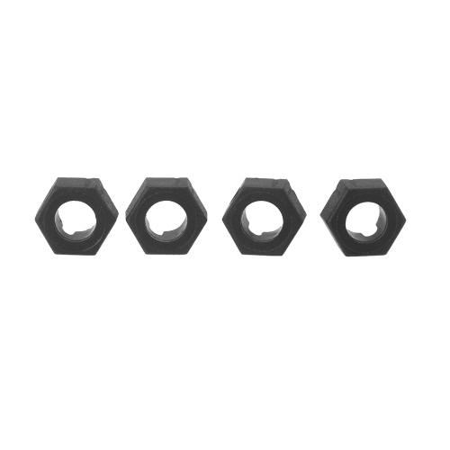 4ST Original Wltoys A949 A959 A969 A979 K929 1/18 Rc Auto Hex tire Ring A949 11 Teil für Wltoys RC Auto Teil (Wltoys A949 A959 A969 A979 K929 Hex Reifen Ring, Wltoys Teil A949 11)