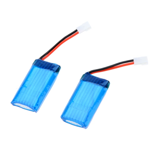 5Pcs Hubsan X4 H107 Series Quadcopter Upgraded Spare 3.7V 380mAh 25C Lipo Battery for H107 H107L H107C H107D