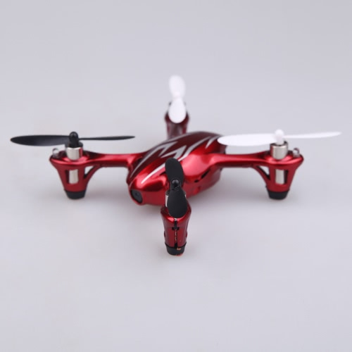 100% oryginalny Hubsan X4 H107C 2.4G 4 kanałów RC RTF Quadcopter Zabawki W / HD 2MP aparat Red & Srebrzysty (Hubsan X4 Quadcopter; Hubsan H107C Quadcopter)