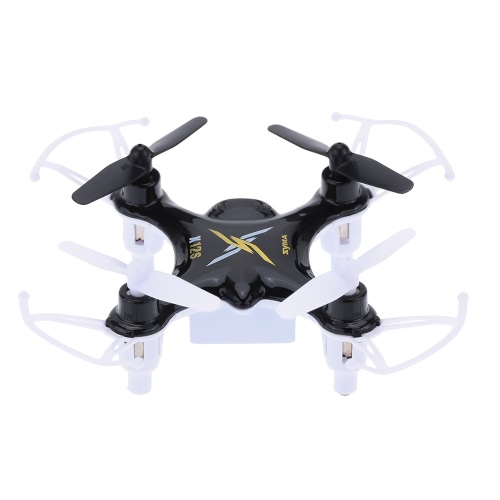 SyMa X12S Black Nano 6 axes Gyro 4CH RTF Mini RC Quadcopter