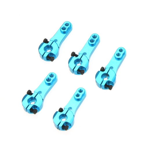 5 Pcs 25 t M3 Metal RC Servo Arm corne bleu pour Futaba Savox Xcore HL HSP Power HD