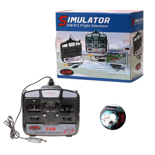 (EAN:0519752164415) GoolRC 6 Channels RC Helicopter Flight Simulator