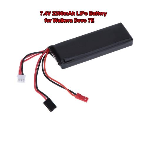 High Quality Transmitter LiPo Battery 7.4V 2200mAh for Walkera Devo 7E Transmitter