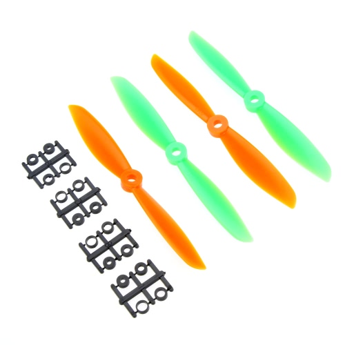 2 Pairs 6045 Propeller 6*4.5 2-Blade Props CW/CCW for QAV250 C250 H250 F330 Quadcopter