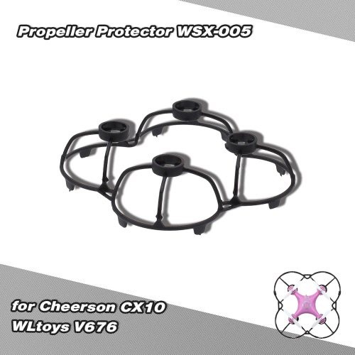 Prop Propeller Protector WSX-005 for Mini Quadcopter CX10 WLtoys V676 Part