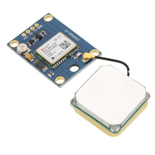 High Precision New Ublox NEO-6M GPS Module with EEPROM for MWC AeroQuad with Antenna Flight Control and Multirotor Quadcopter Aircraft