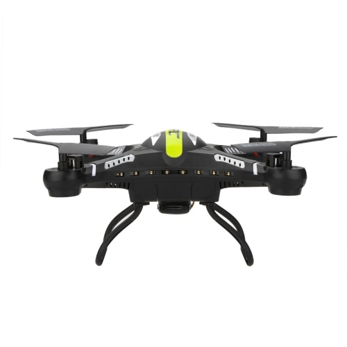 JJR / C H8C 2.4G 4CH 6-Axis Gyro RC Quadcopter Samoloty Drone RTF w / HD 2.0MP kamera Black / White