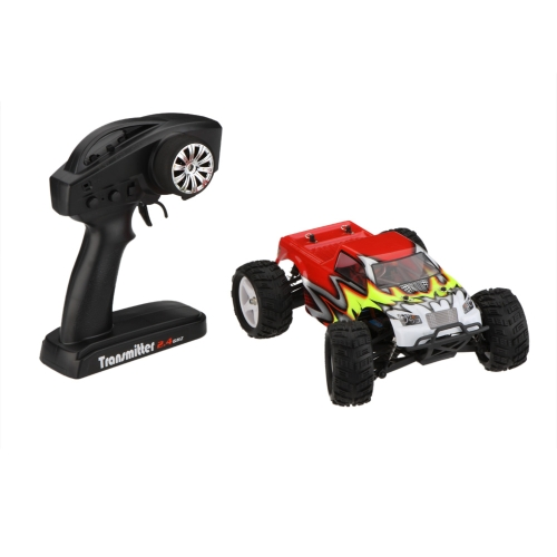 High Performance New TROO E18MT V2 1/18th 1:18 SCALE 4WD Brushed RC Monster Truck with Transmitter RTR