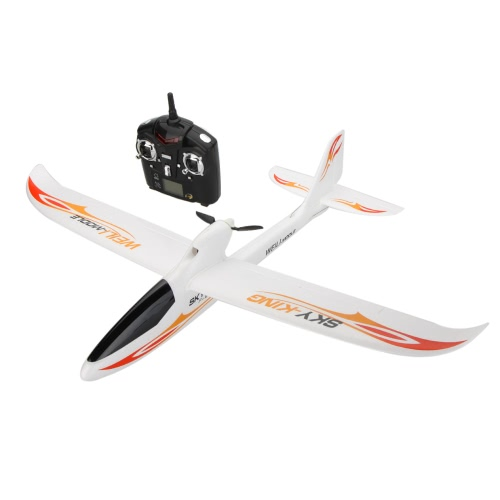 Wltoys F959 SKY-King 2.4G 3CH Radio Control RC Airplane Aircraft RTF Red/Green