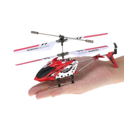 Syma S107G Mini Rot 3-Kanal Infrarot RC R/C Hubschrauber Helicopter mit Gyro Doppelter Schutz