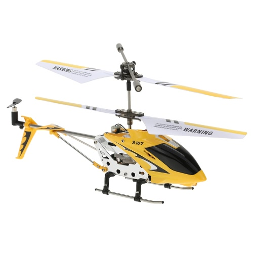 Syma S107G Mini Red 3 Channel Infrared RC R/C Helicopter with Gyro Double Protection