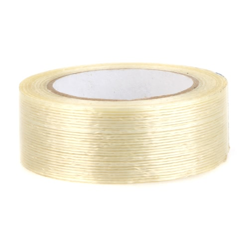 GoolRC 40mm Wide Fiber Tape Viscose Modèle Fixed Viscose Spécial pour RC Fixed Wing Quadcopter Blanc laiteux