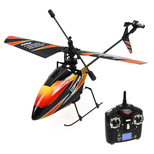 4CH 2.4GHz Mini RC Helicopter with Mode 2 Transmitter