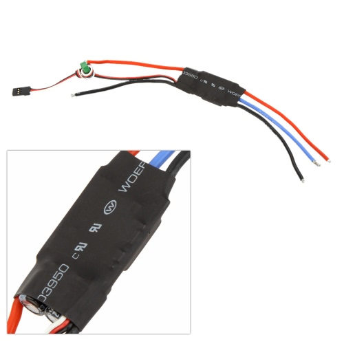 30A OPTO Brushless Speed ​​Control ESC 2-6S Lipo pour F450 F550 Multicoptère Qudcopter Airplane Part