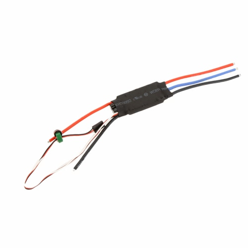 40A OPTO Brushless Speed ​​Control ESC 2-6S Lipo pour F450 F550 Multicoptère Qudcopter Helicopter Airplane Part