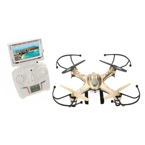 JJRC H9D 2.4G Real-time Video Transmission of Four Axis Aircraft UFO FPV Quadcopter With 0.3MP Camera