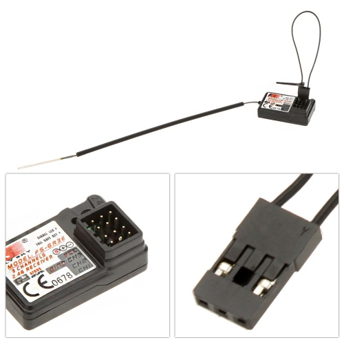 2pcs Flysky FS-GR3E AFHDS ricevitore 3CH 2.4G trasmettitore di GT3C GT2 GT3B
