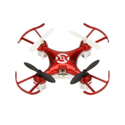 Bayangtoys X6 mini 2.4G 6-Axis Gyro 4-CH RC Quadcopter con luci colorate LED