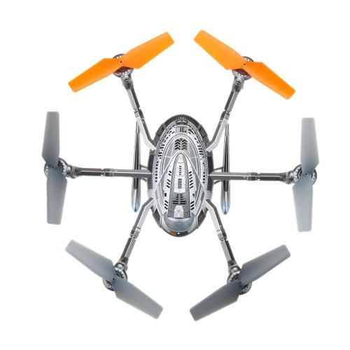Original Walkera QR Y100 2.4G 4CH RTF Hexacopter Drone com DEVO 4 transmissor