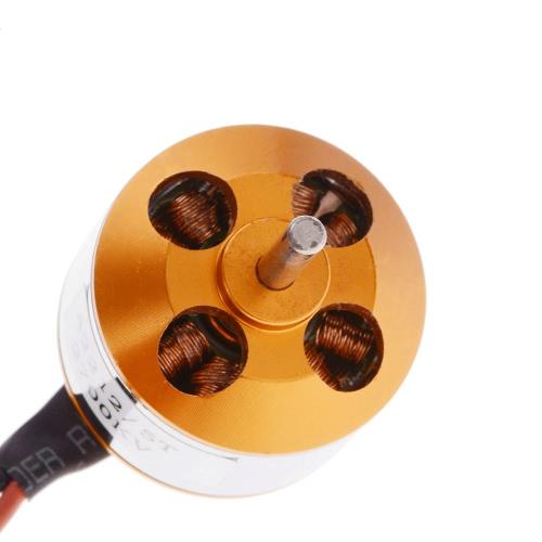 A2212 / 5T 2700KV Motore Outrunner Brushless con supporto per motori a spazzola aeroplano aereo