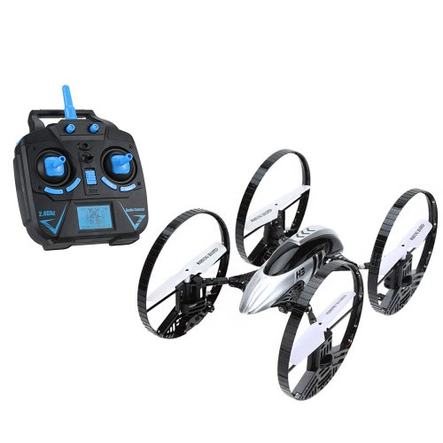 JJRC H3 2.4 G 4 ch 6 軸ジャイロ空気地面水陸両用 4 輪 2 1 クアッド ヘリコプター RC LED ライト RTF ドローンで hd 2.0 mp カメラ