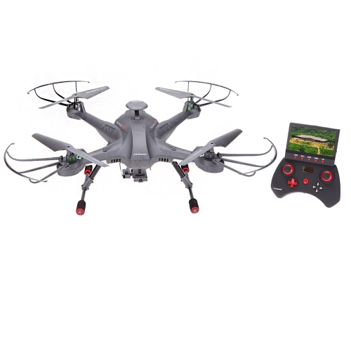 Lian Sheng SKY Hunter LS-128 2.4G 4CH 6-Axis Gyro Real-time Headless RC FPV Quadcopter Drone