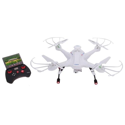 Lian Sheng SKY Hunter LS-128 2.4G 4CH giroscopio a 6 assi in tempo reale senza testa FPV RC Quadcopter Drone