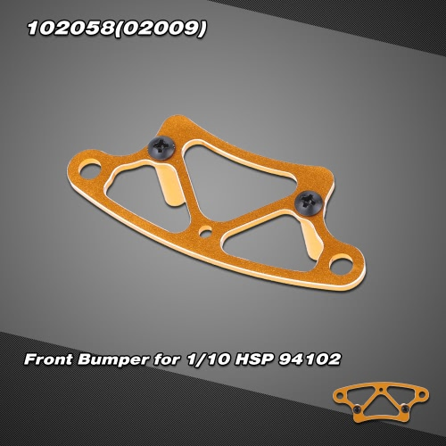 102058(02009) Upgrade Parts Aluminum Alloy Front Bumper for 1/10 HSP 94102 On-road Touring car