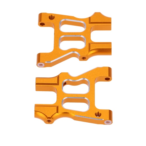 122021 Piezas de mejora de aleación de aluminio trasero inferior brazo de suspensión para 1/10 HSP RC coche