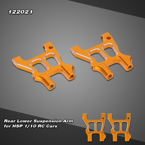 122021 Upgrade Parts Aluminum Alloy Rear Lower Suspension Arm for 1/10 HSP RC Car