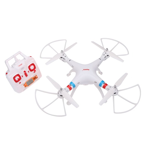 GoolRC SYMA X8C 2,4 G 4 Kanal 6 Achs Gyro R/C Quadcopter RTF Drohne mit LCD Monitor 2000mah Akku 2.0MP HD Kamera Speed Modus Headless Mode und 3D Eversion