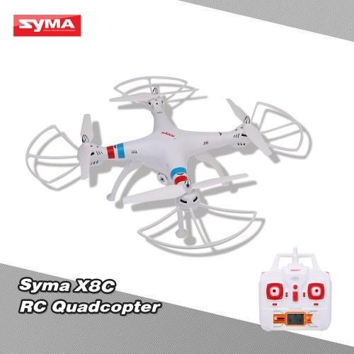 Segunda mano SYMA X8C 2.4G 4CH 6 ejes Gyro R / C Quadcopter RTF Drone con modo de velocidad de cámara de 2.0MP HD sin cabeza y versión en 3D