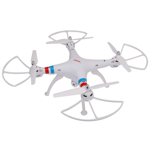SYMA X8C 2.4G 4CH 6-Axis Gyro R / C Quadcopter RTF Drone com 2.0MP HD Camera Speed ​​Mode Modo Headless e 3D Eversion