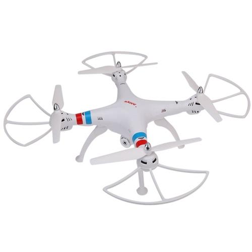 SYMA X8C 2.4 G 4CH 6 Axes Gyro RC Quadcopter RTF Drone avec LCD Moniteur HD de 2000mAh Batterie 2.0mp Caméra Vitesse Mode Mode Headless et Eversion 3D