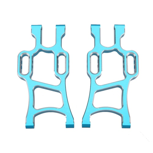 108021 1/10 Upgrade Parts Aluminum Rear Lower Suspension Arm for HSP RC Off Road Monster Truck Car