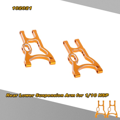 102021(01160) Upgrade Parts Aluminum Rear Lower Suspension Arm for 1/10 HSP On Road Sonic