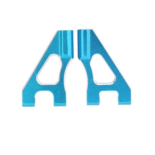 122018 1/10 Upgrade Parts Blue Aluminum Front Upper Suspension Arm for 02147 / 04120 HSP RC Car