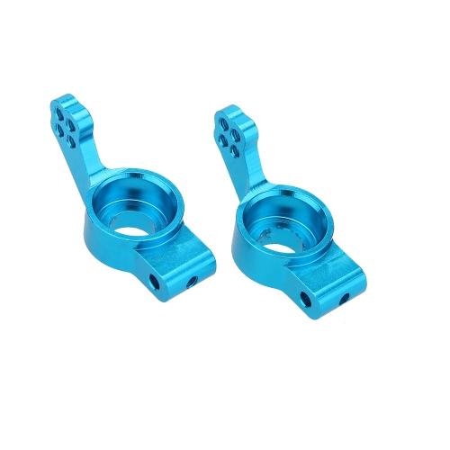 102012 アップグレード パーツ 青いアルミ リヤアップライト(L/R) HSP RC 1:10カー用