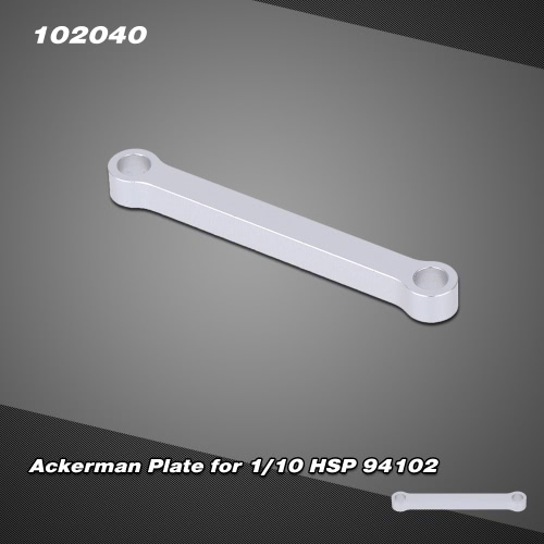 102040(122040) Upgrade Parts Aluminum Alloy Ackerman Plate for 1/10 HSP CNC SONIC 94102 Nitro On-road Touring Car
