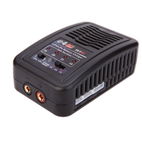 Originale SKYRC e4 caricabatterie 2-4 celle lipo 1A/2A/3A 200mA equilibrio caricabatterie